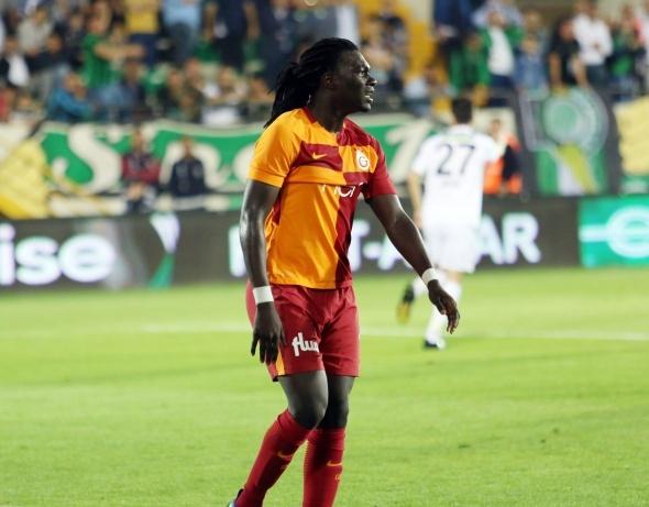 Gomis, Akhisarspor maçına damga vurdu