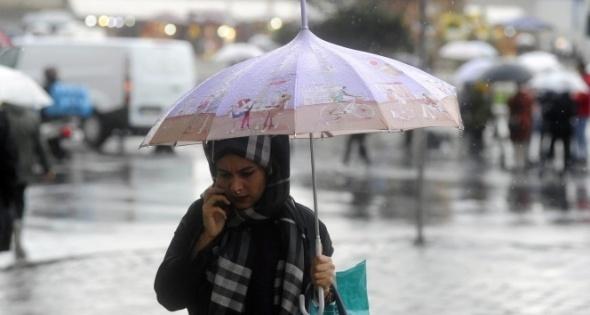 Meteoroloji saat verdi! Kuvvetli yağış geliyor |8 Mayıs Pazartesi