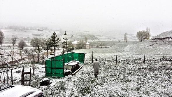 Mayıs ayında kar sürprizi!
