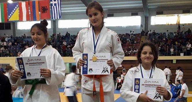 Türk judocular Yunanistandan madalya yağmuru ile döndü