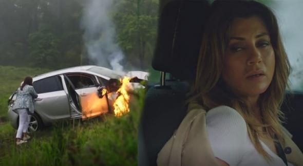 Ufak Tefek Cinayetler'de Merve ve Oya'nın şok trafik kazası! Araçta sıkışan Oya öldü mü?