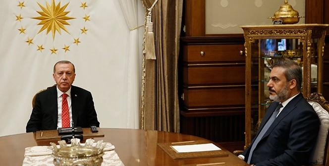 Cumhurbaşkanı Erdoğan, Muharrem İnce'yi kabul etti