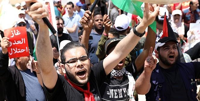 Ürdün'den İsrail protestosu