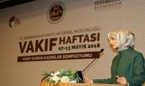 """Sümeyye Erdoğan Bayraktar: """"Fıtri iyilik anlayışını en iyi uygulayan Osmanlıdır"""""""