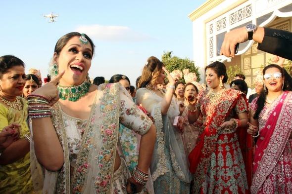 5 milyon dolarlık Hint düğünü sona erdi