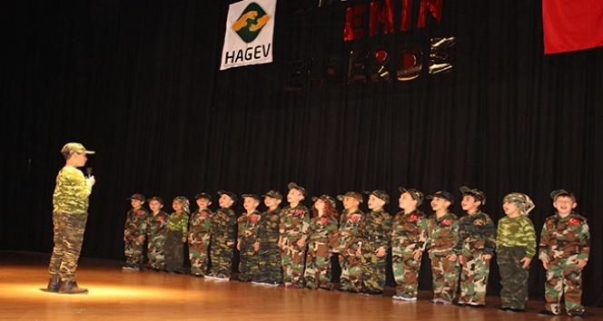 HAGEVli minikler yıl sonu gösterisi düzenledi