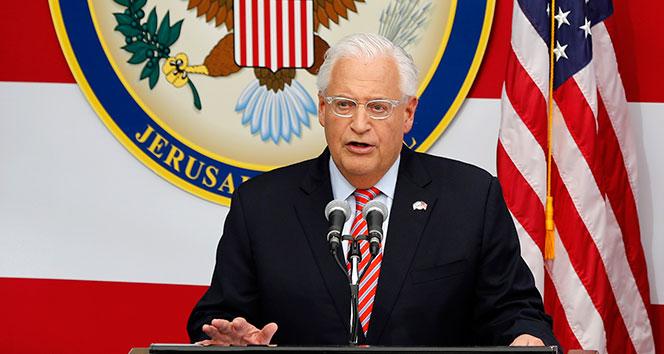 ABDnin Kudüs Büyükelçiliği resmen açıldı