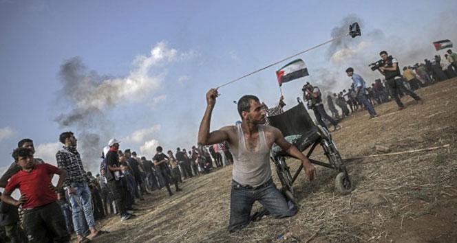 Gazze'de şehit sayısı 63'e yükseldi