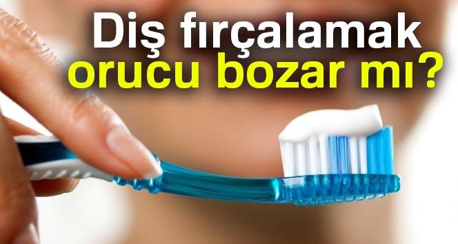 Diş fırçalamak orucu bozar mı? Orucu bozan şeyler nelerdir? Diyanet açıkladı