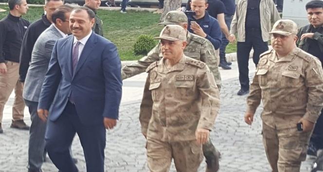 Jandarma Genel Komutanı Çetin Elazığ'da