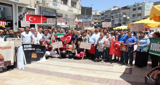 AK Parti Kuşadası teşkilatından İsrail'e kınama