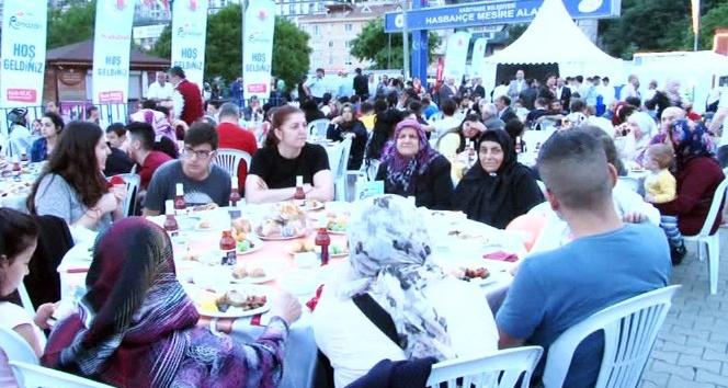 Kağıthaneliler iftar programında bir araya geldi