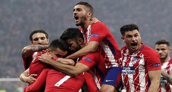 Avrupa Ligi Kupası Atletico Madrid'in
