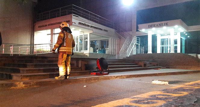 Bezmialem Tıp Fakültesi Hastanesinde yangın