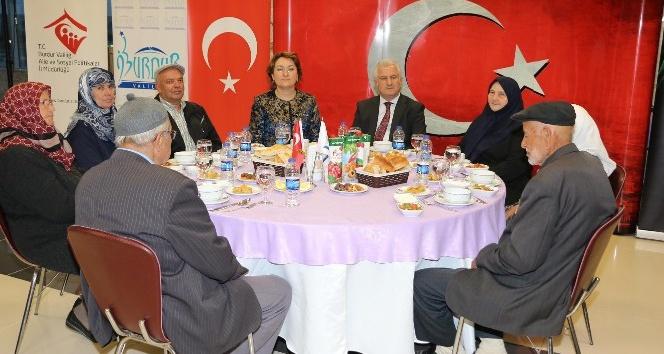 Burdur'da ilk iftar Şehit Aileleri ve Gazilerle yapıldı