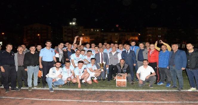 Belediye futbol turnuvası sona erdi