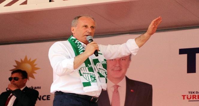 """CHP'nin Cumhurbaşkanı adayı Muharrem İnce: """"Parayı ateşleyin bakalım"""