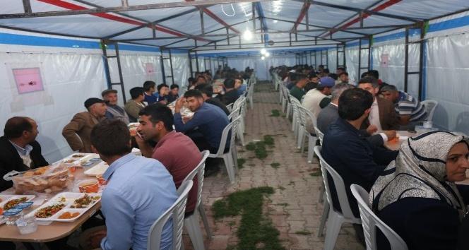 Iğdır Belediyesi Ramazan çadırı
