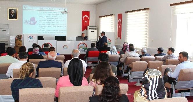 Kadına yönelik şiddet ile mücadele eğitim semineri verildi