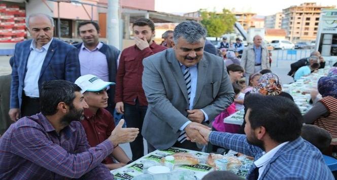 Ereğli'de geleneksel mahalle iftarları başladı