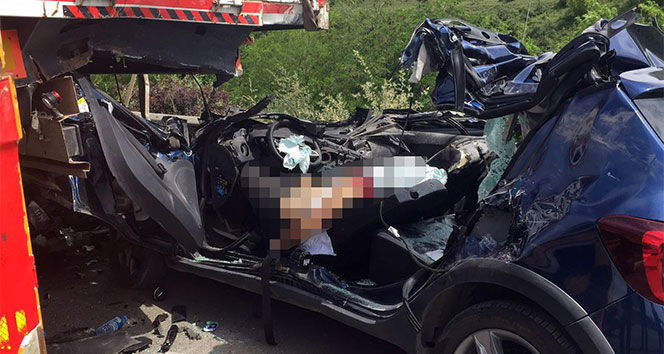 Bursada akıl almaz kaza: 1 ölü