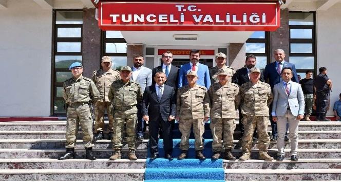 Jandarma Genel Komutanı Çetin Tunceli'de