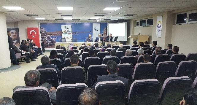 """Tatvan'da """"teşvik paketleri"""" bilgilendirme toplantısı düzenlendi"""