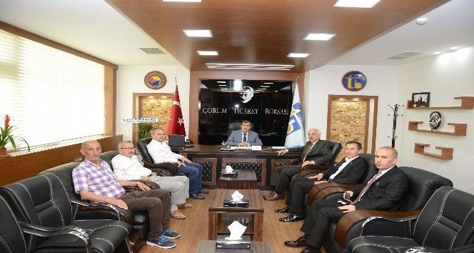 Başkan Gül'den Ticaret Borsası'na ziyaret