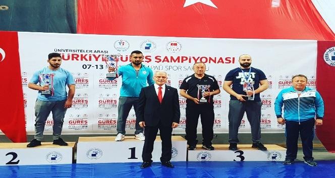 Kadınlarda Güreş Türkiye Şampiyonu Bartın oldu