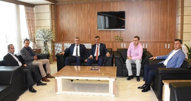 Gürkan'dan Sadıkoğlu'na hayırlı olsun ziyareti