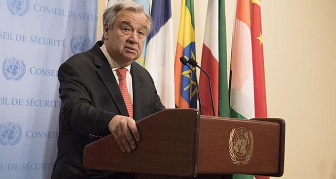 BM Genel Sekreteri Guterres: Uluslararası güvenlik risk altında