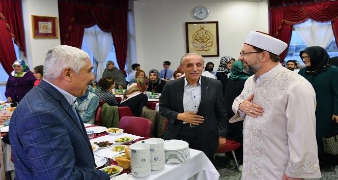 Diyanet personeli iftar sofrasında buluştu