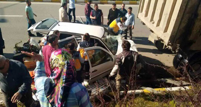 Doğu Karadenizde 2018 yılının ilk 4 ayında trafik kazalarında 2 bin 60 kişi yaralandı