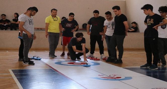 Türkiye'nin ilk okullar arası 'Floor Curling' turnuvası Adana'da başladı