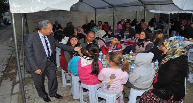 Akşehir'de mahalle iftar programları başladı
