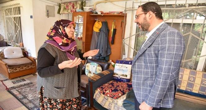 Başkan Ayaz'dan mahalle ziyaretleri