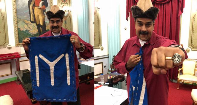 Venezuela Devlet Başkanı Maduro 'Diriliş' hayranı çıktı