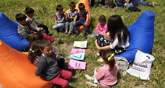 Okul Dışarıda Günü'nde çocuklar hem eğlendi, hem öğrendi
