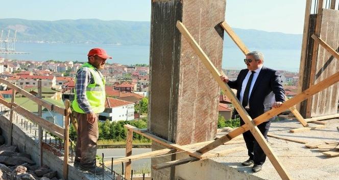 Başkan Baran, çalışmaları yerinde inceledi