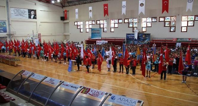 Alanya'da okul sporları ödül töreni yapıldı