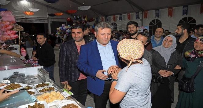 Talas Ramazan Sokağına vatandaşlar akın etti