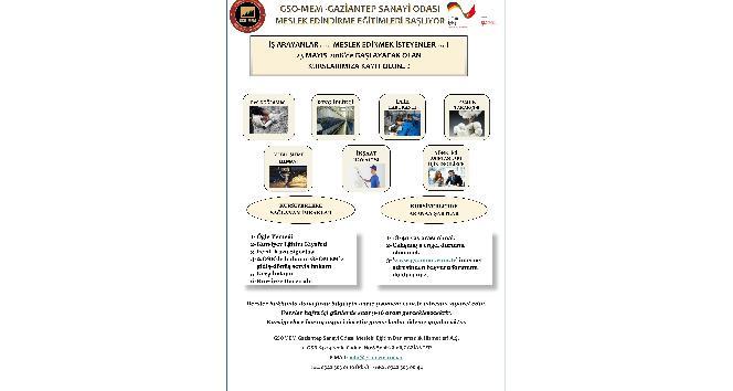GSO-MEM'de istihdam garantili meslek edindirme eğitimleri