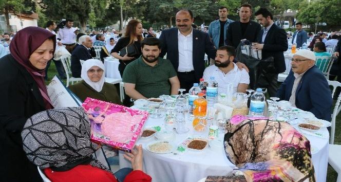 Şehit yakınları ve gaziler büyükşehirin iftar sofrasında buluştu