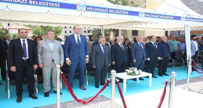 Melikgazi Belediyesince Yapımı Tamamlanan Büyükpoyraz Cami açıldı