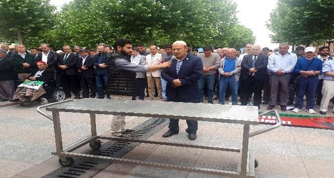 Ankara'da şehit Filistinliler için gıyabi cenaze namazı kılındı