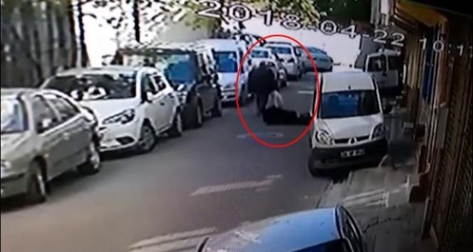 İstanbulda tacizci cinayeti kamerada