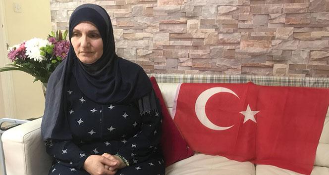 Türk bayrağını PKKlılara vermeyen kahraman kadın konuştu