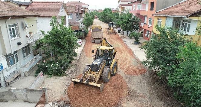 Onarım için 15 bin ton sıcak asfalt kullanılacak