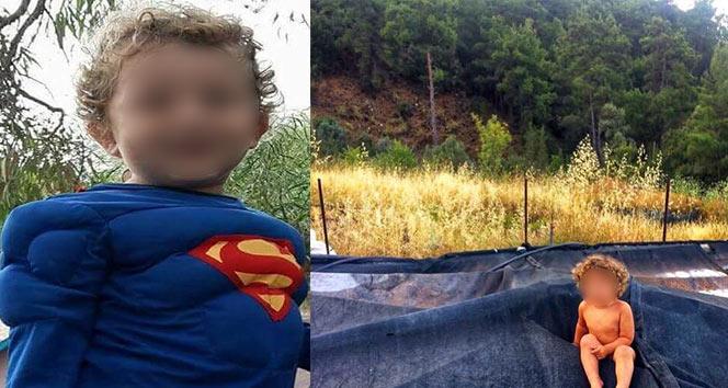 Olymposta kaybolan 2.5 yaşındaki Şems bulundu