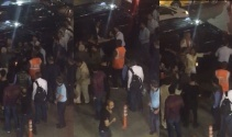 Havalimanında UBER sürücüsü ve yolculara saldırı